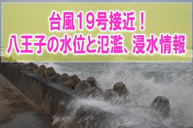 八王子(浅川)の現在水位や氾濫状況、浸水、水害被害をライブカメラ確認とハザードマップ